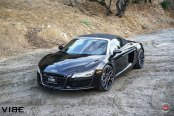 Black Pearl: Sporty Audi R8 Gets Aftermarket LED Headlights