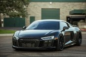 Stealthy Takes Over Black Audi R8 with Custom Parts