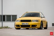 Street Hooligan Matte Yellow Audi S4