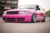 Airlift Performance Custom Audi S4 Avant With Lowered Suspension