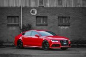 Customized Candy Red Audi S7 Quattro Steals Your Attention