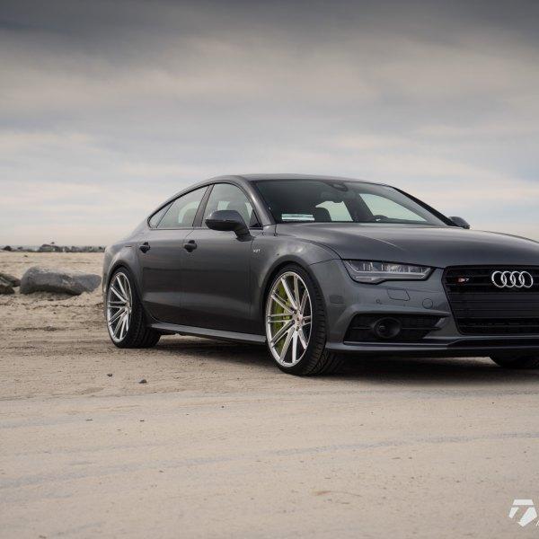Custom Black Audi S7 V8T   Photo By Vossen