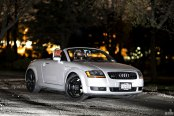 Exotic Presence of Silver Convertible Audi TT