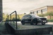 Where Space Meets Style: Black Bentley Bentayga Rocking Vossen Wheels