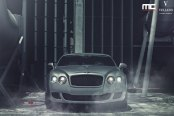 Custom Parts on Gray Bentley Continental Giving It a Mysterious Appearance