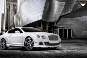 Royal Is Royal: White Bentley Continental with Aftermarket Goodies