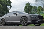 King on the Road: Bespoke Gray Matte Bentley Continental