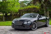 The Impeccable Black Convertible Bentley Continental Sees Exterior Changes