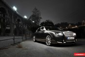 Stylish Transformation of the Impeccable Silver Bentley Flying Spur