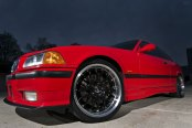 Distinctive Upgrades for Red BMW 3-Series