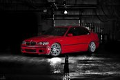 Chrome Bremmer Kraft Wheels Taking Red BMW 3-Series to Another Level