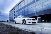 Snow Leopard: White BMW 3-Series with Exterior Upgrades