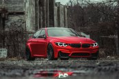 Ruby Red BMW 3-Series Grabs Attention with Exterior Tweaks
