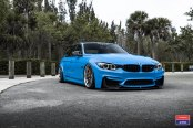 Stance Is Everything: Blue BMW 3-Series Gets a Carbon Fiber Front Lip