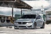 BMW M3 Looks Elegant on Velgen Wheels
