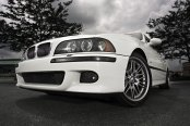 Exterior Improvements for White BMW 5-Series