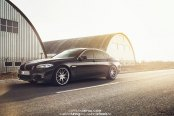 Elegance As It Is: Customized Black BMW 5-Series