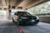 Elegant and Upscale BMW 5-Series Boasting Custom ANRKY Wheels