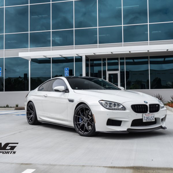 Custom bmw 6 series images mods photos upgrades carid gallery blacked out grille on white bmw 6 series photo by vorstiner publicscrutiny Images