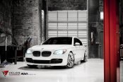 Luxury Game - BMW 750Li Fitted With Shiny Custom Wheels by ADV1