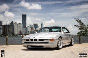 Classic BMW 8-Series Enhanced by Rotiform Rims With Period Correct Design