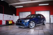 Luxurious Beast Custom Blue BMW X1