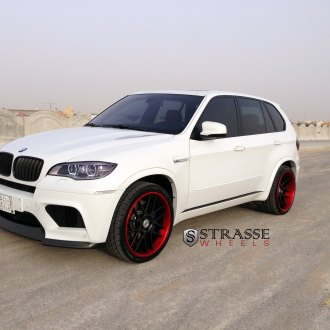 White BMW X5 With Custom Front Lip