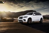 Tuned White BMW X5 Speaking of Impressive Performance