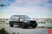 Clean Looking BMW X5 Outfitted with Custom Vossen Wheels