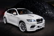 White on White BMW X6 Gets a Custom Body Kit