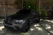 Bad Boy Out: Black Matte BMW X6 with Aftermarket Parts