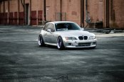 Not Your Ordinary BMW Z3: Wearing Silver Paint and Matte Purple Rims