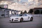 Royal Appearance of Bugatti Veyron Goes Elegant with HRE Wheels