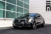 Platinum Black Cadillac ATS by Exclusive Motoring