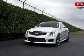 Little Luxury Never Hurts: White Cadillac ATS Receives Custom Goodies