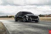 Black Ice: Sleek Cadillac CTS Gets a Custom Mesh Grille