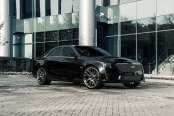 Hot Looking Black Cadillac CTS Wearing Chrome Mesh Grille