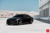 Distinct Personality of the Cadillac CTS Highlighted by Totally Blacked Out Styling