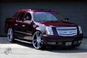 Cadillac Escalade EXT Luxury Pickup Truck Restyled by Lexani
