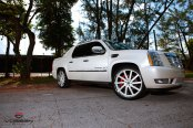 Quintessential Beauty: Cadillac Escalade EXT Enhanced by Chrome Trim
