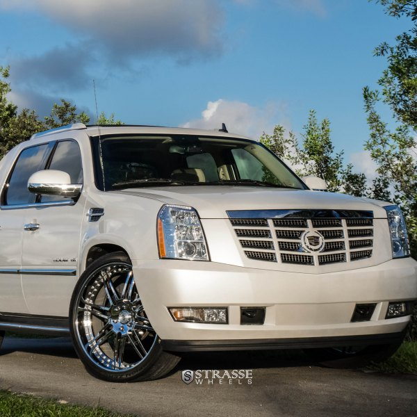 Ext Cadillac: Custom 2012 Cadillac Escalade