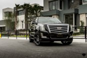 Black Cadillac Escalade Appears Gorgeous with Custom Blaque Diamond Rims