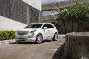 Where Space Meets Style: Cadillac XT5 on Avant Garde Wheels
