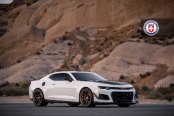 Chevy Camaro Wears Black Accents For Advanced Styling