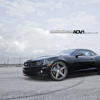 Chevy Camaro SS Fitted With Deep Concave Rims by ADV1