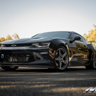 Beasty Bespoke Chevy Camaro Wearing MRR Wheels with Brembo Brakes