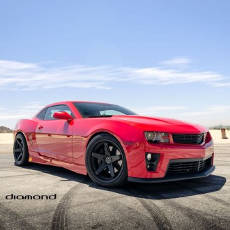 Widebody Red Rebel: Customized Chevy Camaro