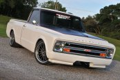 The Street Dancer White Lowered Chevy CK