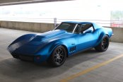 Blue Blooded: Custom Matte Blue Chevy Corvette Stingray