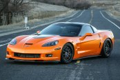When Halloween Takes Over You: Orange Chevy Corvette Fitted with Body Kit